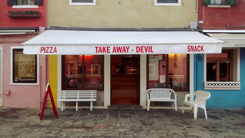 Devil Take Away Burano