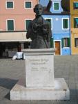 Baldassare Galuppi's statue by Remigio Barbaro