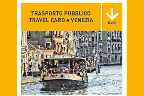 trasporto pubblico travel card a Venezia