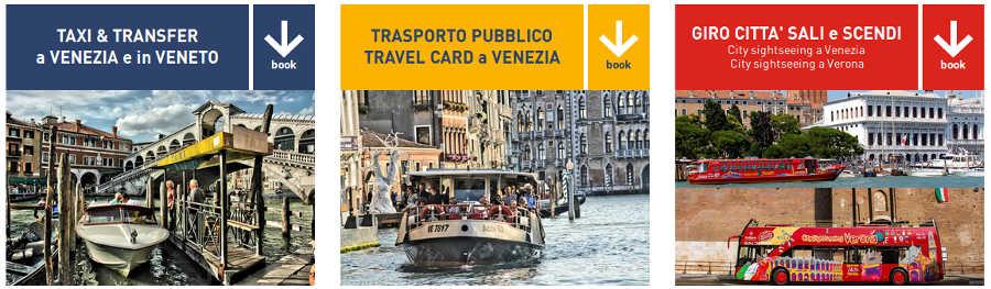 vaporetto venezia taxi trasferimenti