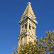 Burano island campanile
