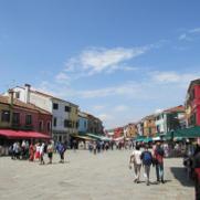 Burano Piazza Baldassare Galuppi