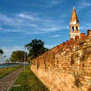 Mazzorbo antiche mura della Tenuta Venissa