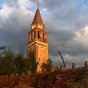 Mazzorbo campanile del vecchio cimitero