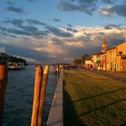 Mazzorbo fermata del vaporetto riva della Maddalena