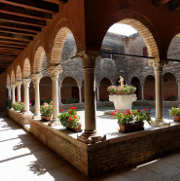 cloister on San Francesco island