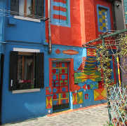Bepi colorful house in Burano