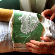 Burano lace making