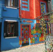 Casa colorata di Bepi a Burano