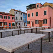 Ex outdoor fishmarket of Burano