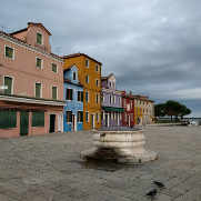 Istrian stone well in Burano