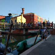 Three Bridges in Burano love viewing