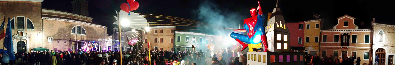 carnival of burano and venice