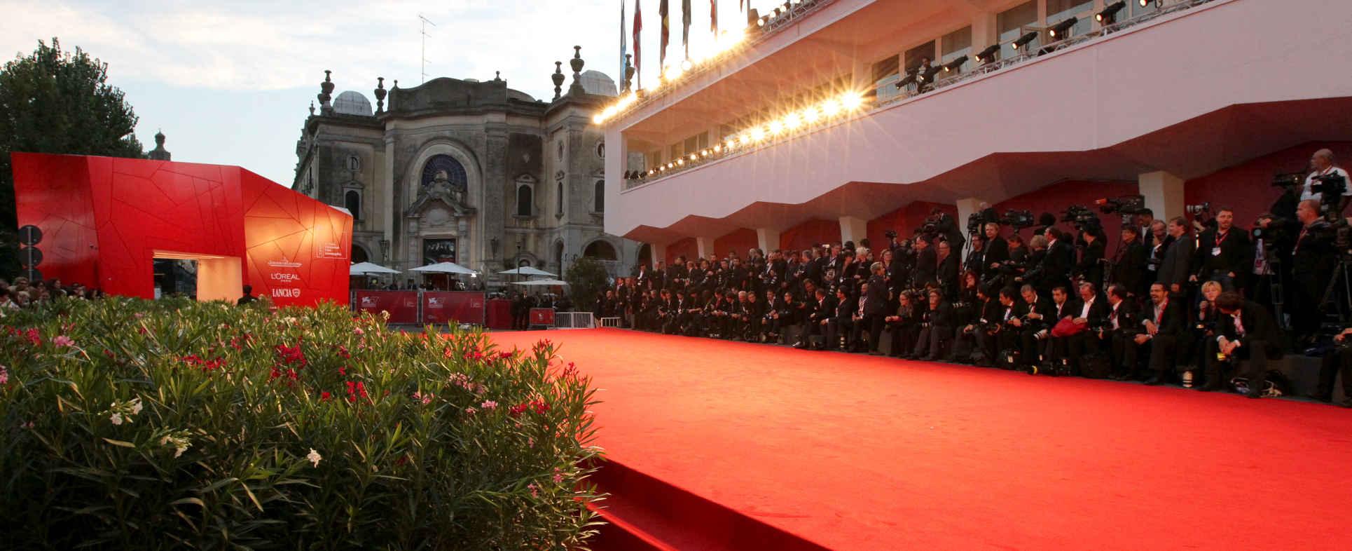 venice film festival in lido