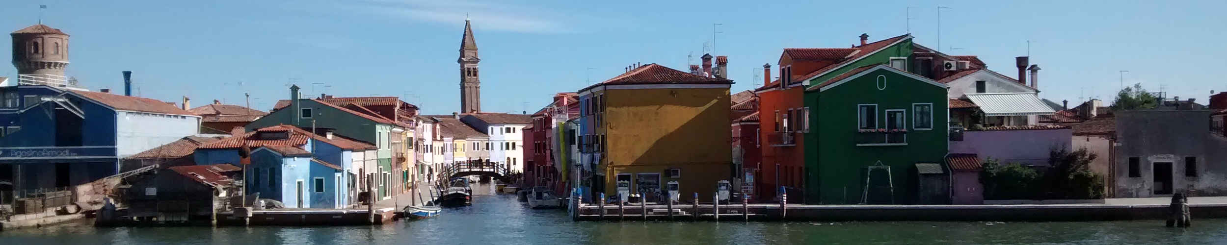 getting to burano