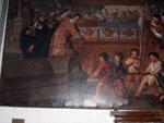Opera raffigurante la leggenda dei tre santi di Burano
