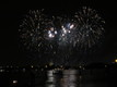 Redentore's feast fireworks in Venice by boat