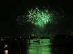 Redentore's feast fireworks in Giudecca Canal