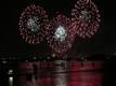 Fuochi d'artificio del Redentore visti dalla Giudecca a Venezia