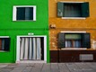 Coloured details of Burano