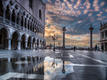 Reflexes of Palazzo Ducale in Venice