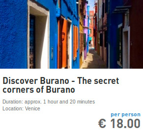 secret corners of burano tour