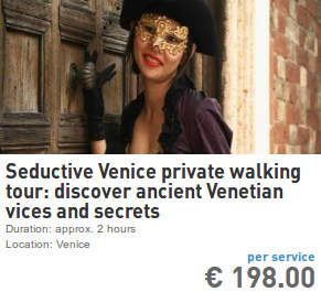 seductive venice private walking tour